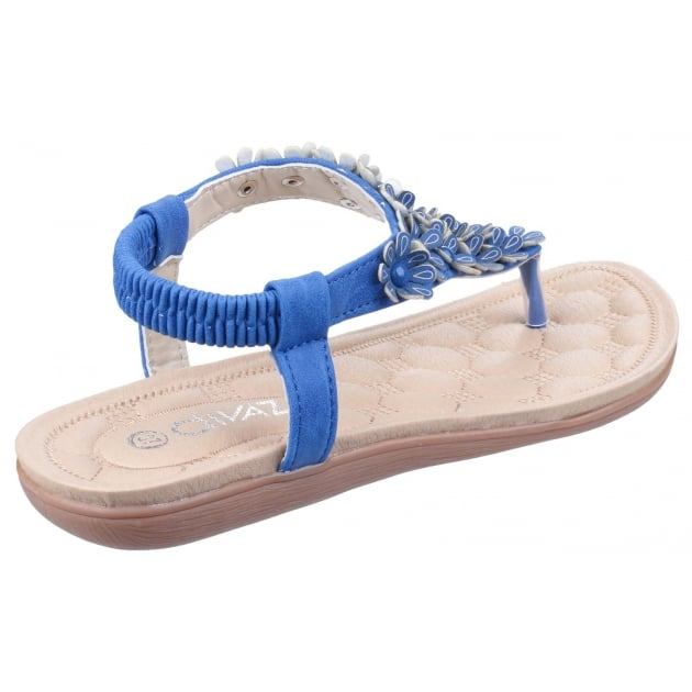 Divaz Britney Blue Sandals