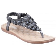 Divaz Britney Charcoal Sandals