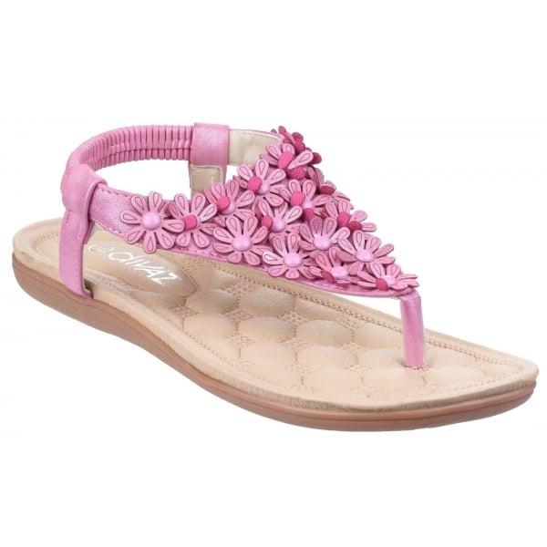 Britney Fuchsia Sandals