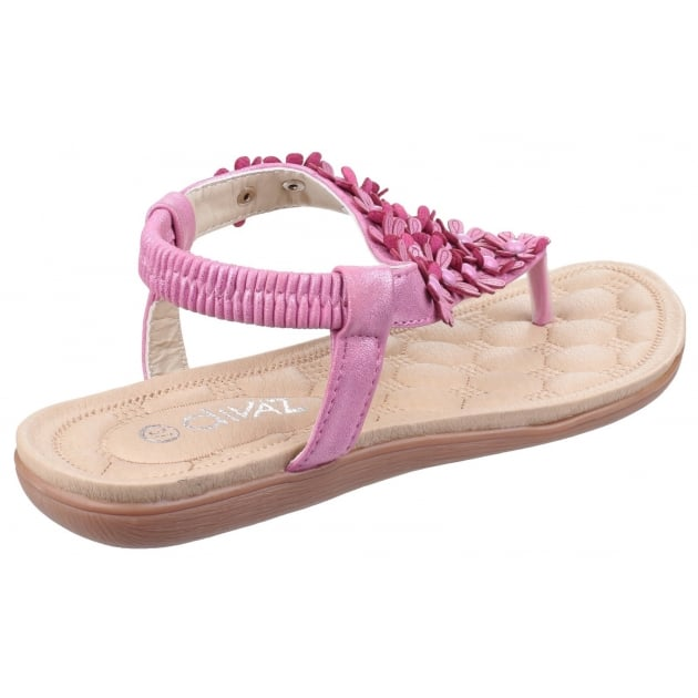 Divaz Britney Fuchsia Sandals