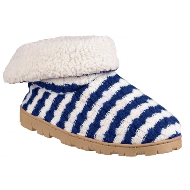 Divaz Latvia Navy Slippers