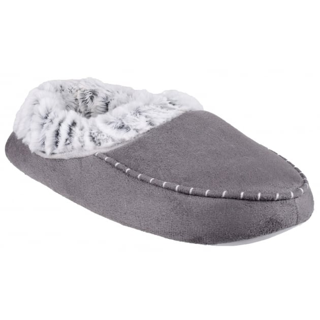 Divaz Mirak Prague Grey Slippers