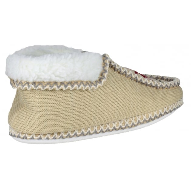 Divaz Norway Slip On Beige Slippers