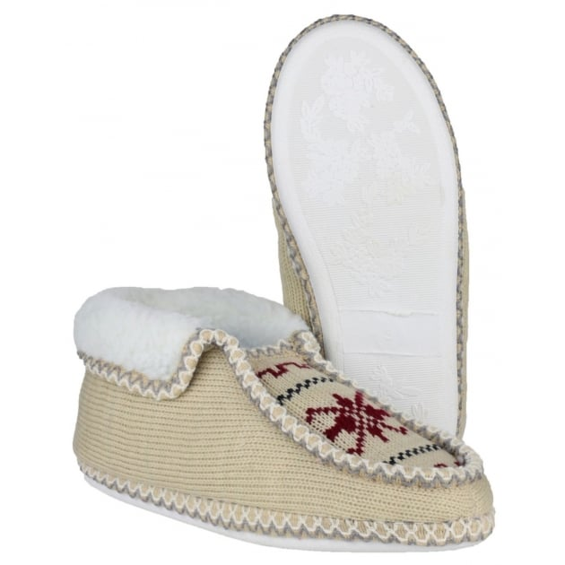 Divaz Norway Slip On Beige Slippers