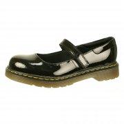 Dr Martens Maccy Patent Lamper Black Patent Shoes
