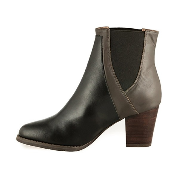 esska zyme s black taupe boots free delivery at