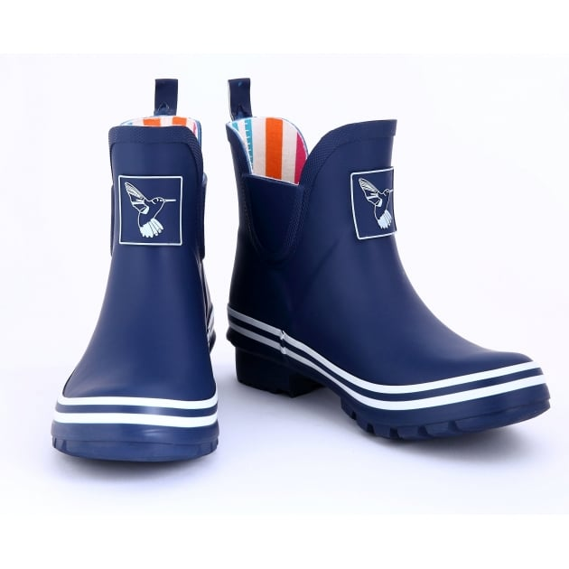 Evercreatures Blue Meadow Ankle Wellies - Wellingtons