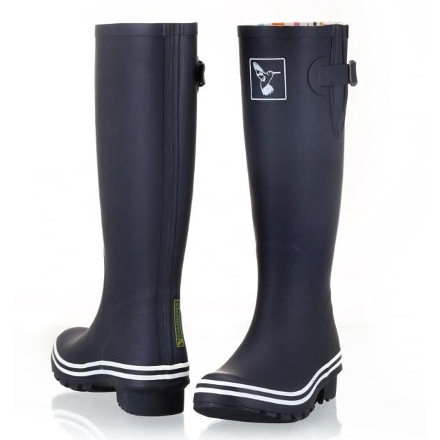 Evercreatures Black & White Tall Wellies