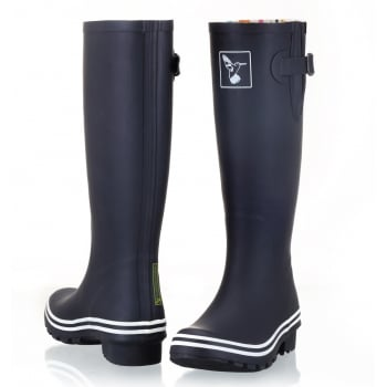 Evercreatures Black & White Tall Wellies - Wellingtons