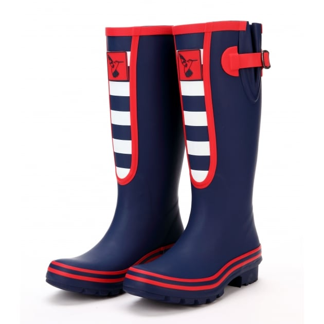 Evercreatures Breton Tall Wellies - Blue