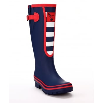 Evercreatures Breton Tall Wellies - Blue Wellingtons