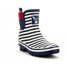 Evercreatures Bristol Meadow Ankle Wellies - Marine