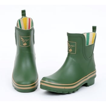 Evercreatures Green Meadow Ankle Wellies - Wellingtons