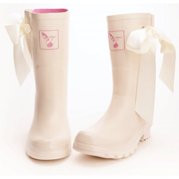Evercreatures I Do Wellies Short - Cream Wellingtons