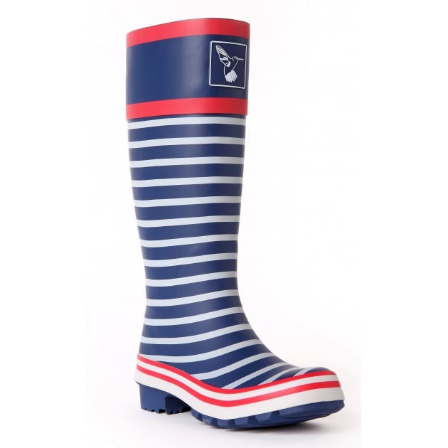 Evercreatures In the Navy Tall Wellies