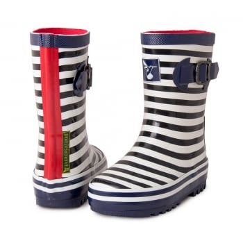 Evercreatures Kids Bristol Wellies - Marine Wellingtons