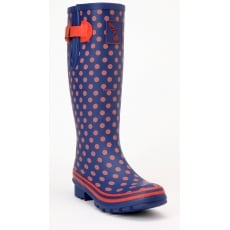 Evercreatures Multisun Tall Wellies - Red Polka