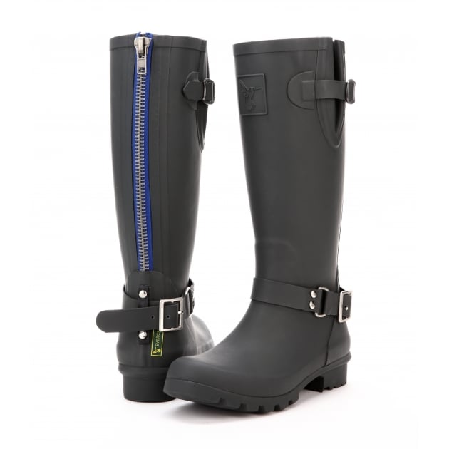 Evercreatures Triumph Tall Wellies - Black Wellingtons