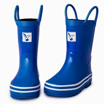 Evercreatures Kids Blue Wellies - Wellingtons