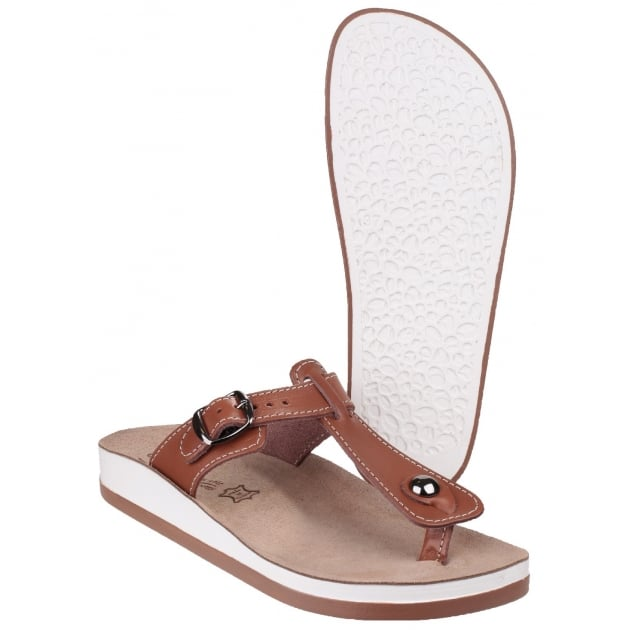 Krios Tan Sandals