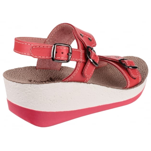 Fantasy Mykonos Red Sandals