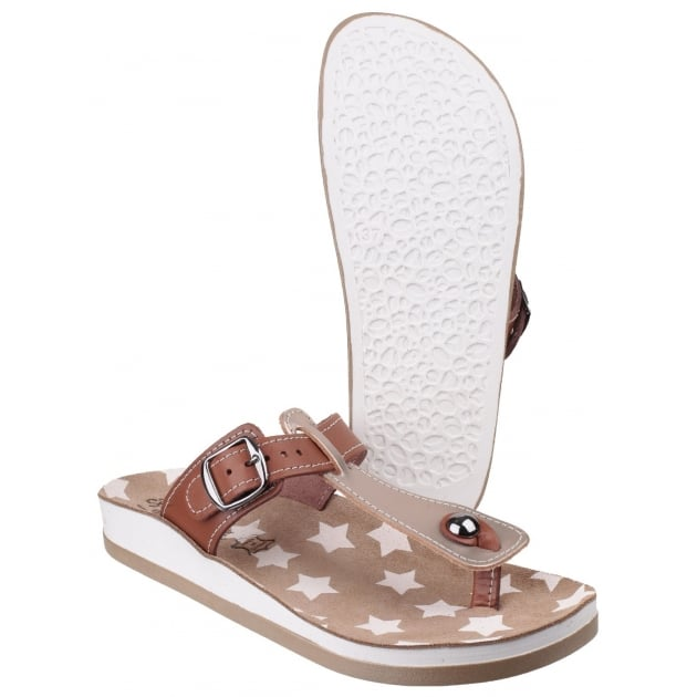 Fantasy Naxos Peach/Tan Sandals
