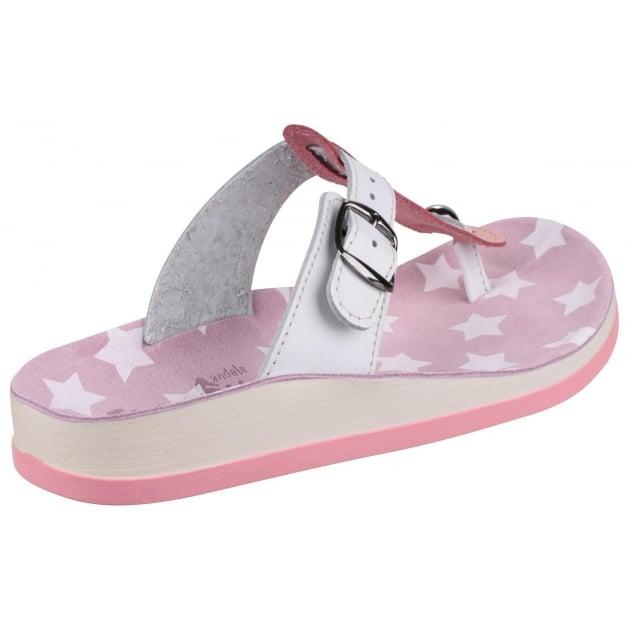 Naxos Pink/White Sandals