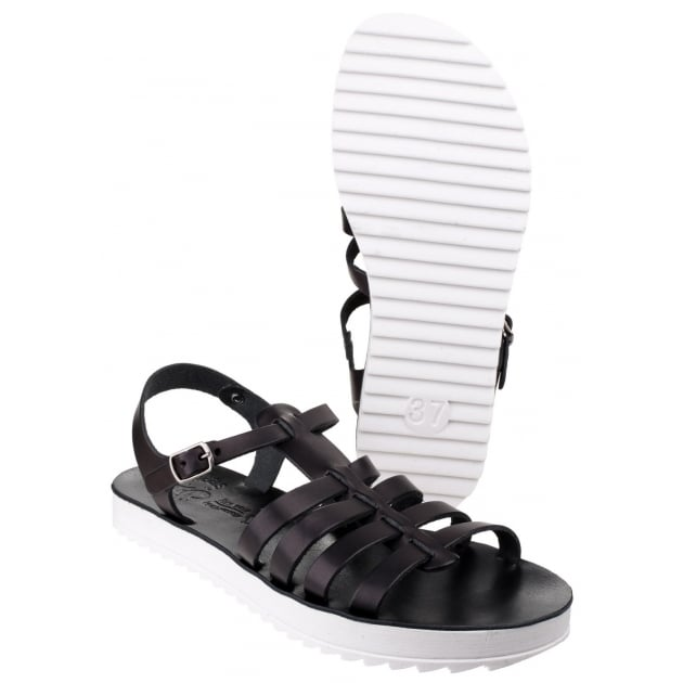 Fantasy Omfon Black Sandals