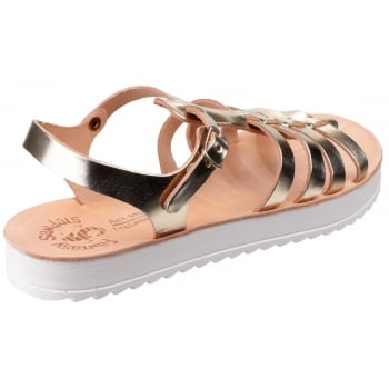 Fantasy Omfon Gold Sandals