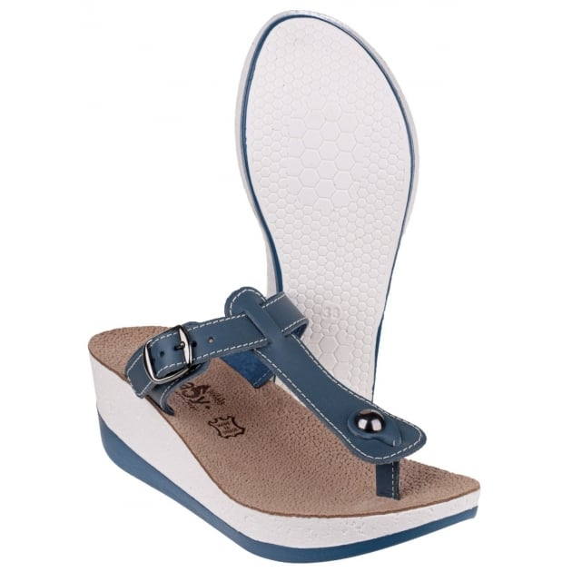Fantasy Paxnos Blue Sandals