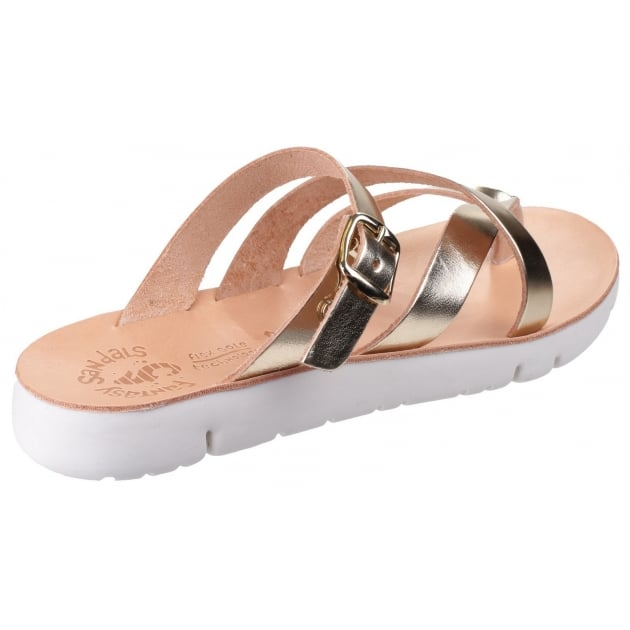 Fantasy Platia Gold Sandals