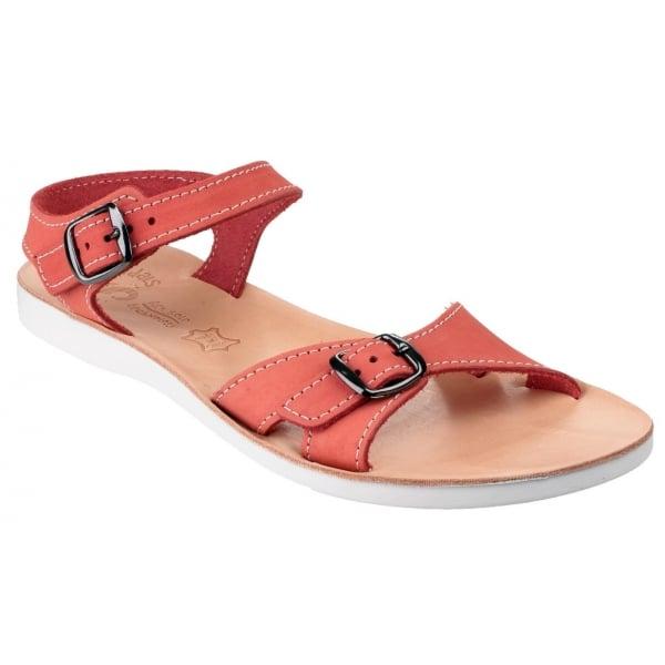Rhodes Red Sandals