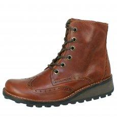 Fly London Marl Brick Boots