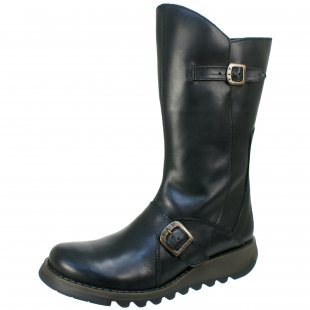 Fly London Mes 2  Black Boots