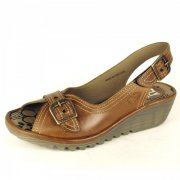 Fly London Oarol Camel Sandals