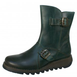 Fly London Seti  Petrol Boots