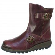 Fly London Seti  Purple Boots