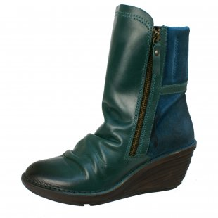 Fly London Simi Petrol Boots