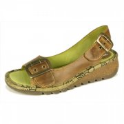 Fly London Tori  Camel Sandals