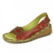 Fly London Tori  Red Sandals