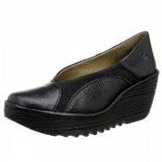 Fly London Yani Black Shoes