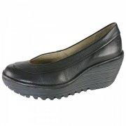 Fly London Yoko Black Shoes