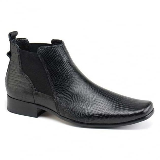Front Anson FR7039 Black Boots