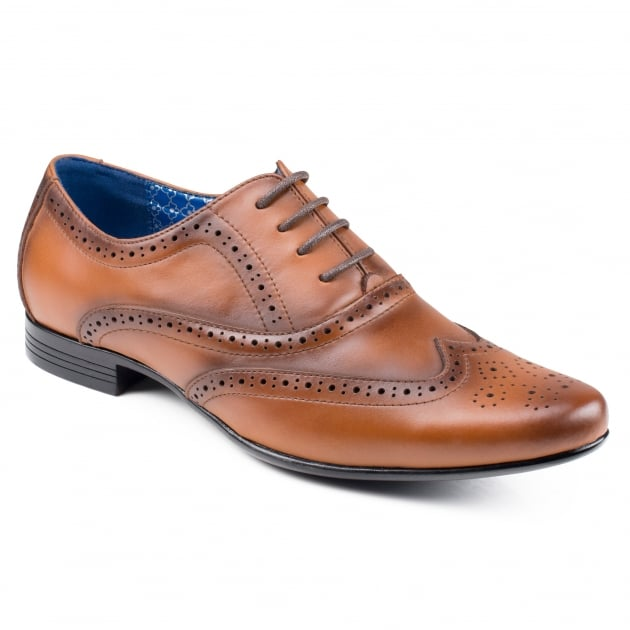Front Apollo (Fr7204) Mid Brown Shoes