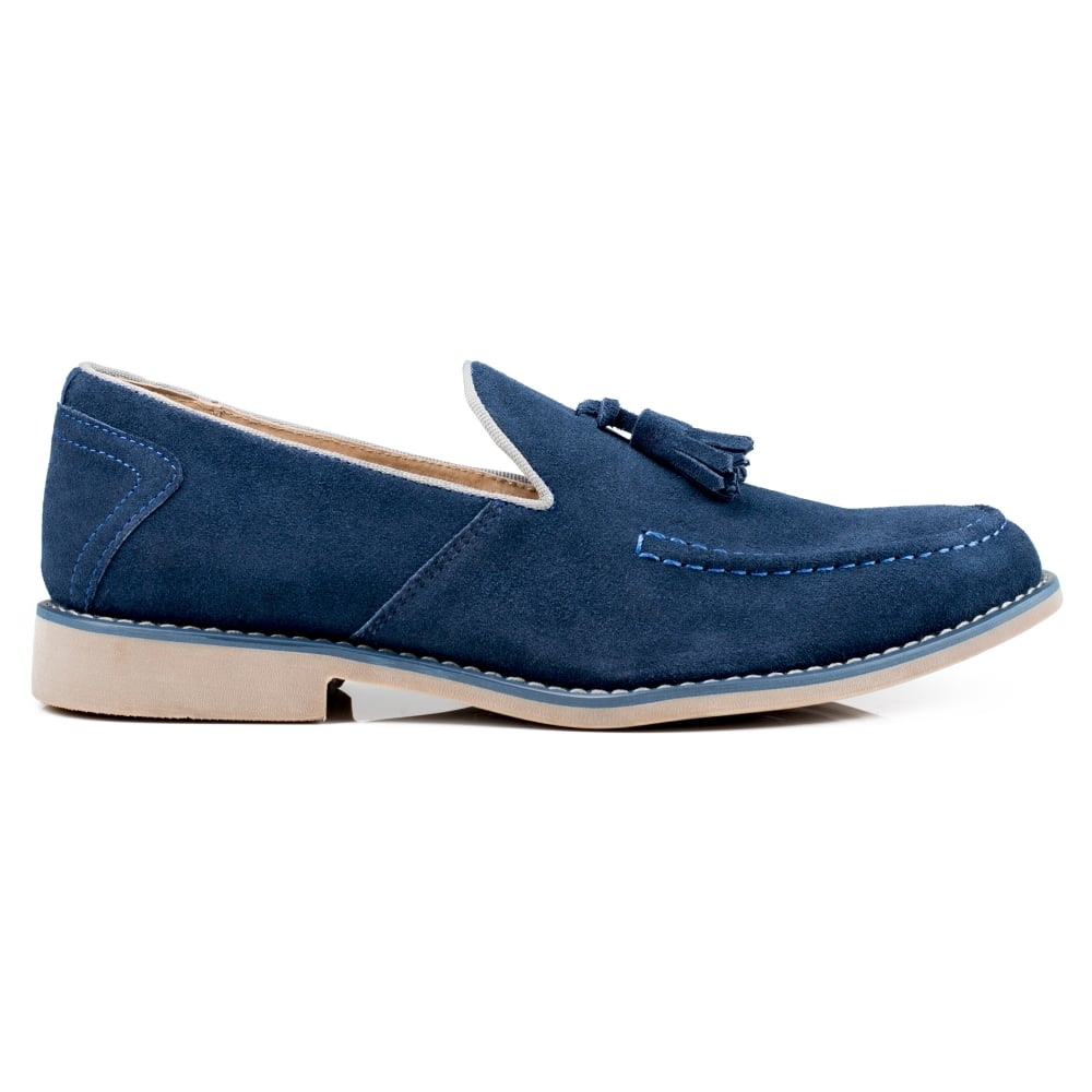 Front Barnes Men's Navy Shoes - Free Delivery at Shoes.co.uk