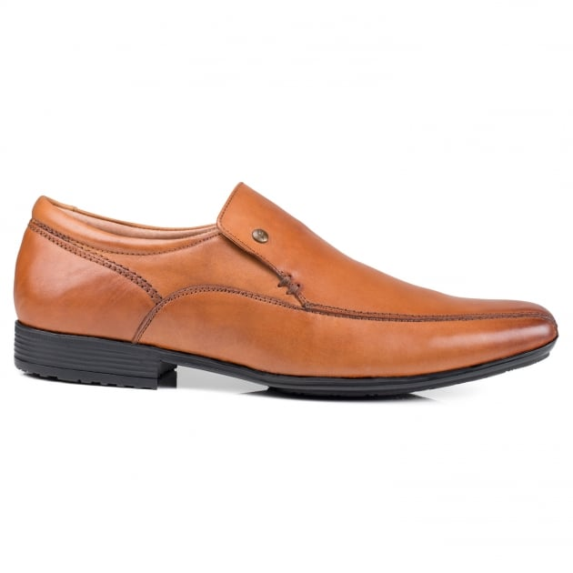 Front Belmont Tan Shoes