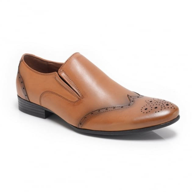 Front Chadwick Fr7104Rg Tan Shoes