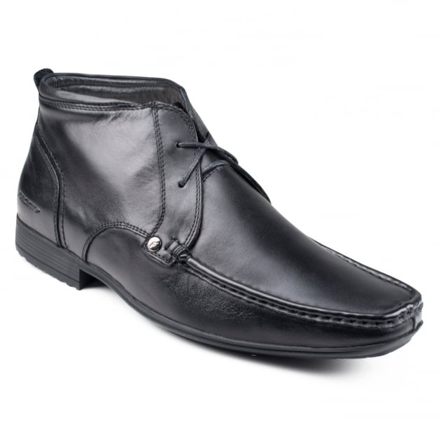 Front Clarkson Fr691 Black Boots