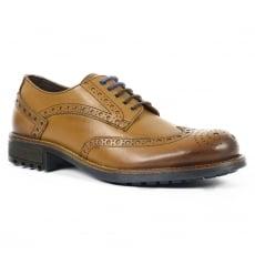 Front Drake Fr7240 Tan Shoes