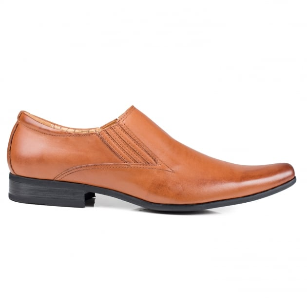 Front Enzo (Fr6985) Tan Shoes